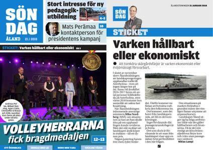 Ålandstidningen – 21 januari 2018