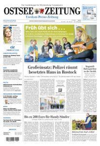 Ostsee Zeitung Wolgast - 20. Oktober 2017