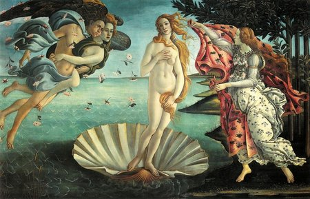 The Uffizi Gallery collection of paintings