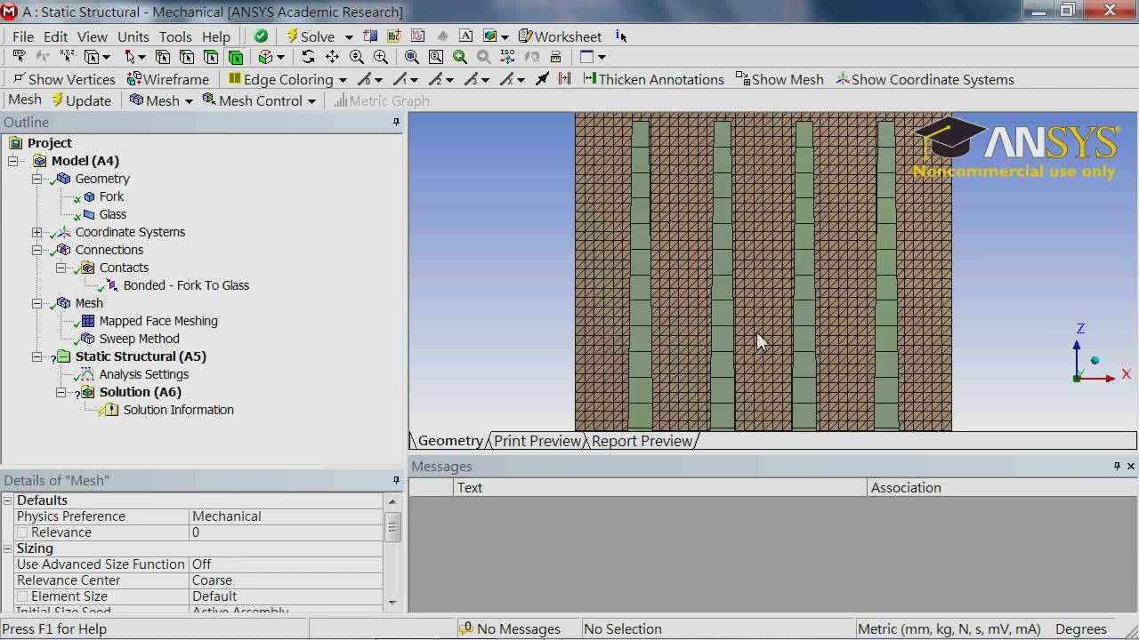 Finite Element Simulations with ANSYS Workbench 14 [Repost