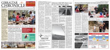 Gibraltar Chronicle – 09 August 2019