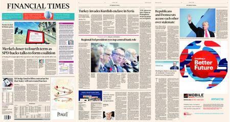 Financial Times Europe – 22 January 2018