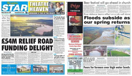 Shropshire Star Shrewsbury Edition – March 22, 2019