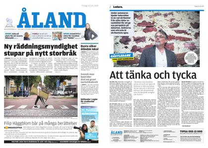 Ålandstidningen – 16 juli 2019