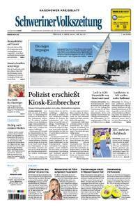 Schweriner Volkszeitung Hagenower Kreisblatt - 02. März 2018