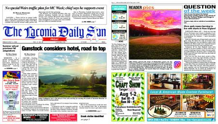 The Laconia Daily Sun – July 31, 2020