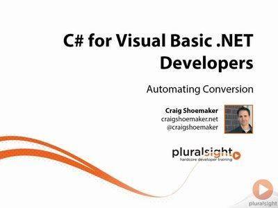 C# for Visual Basic .NET Developers [repost]