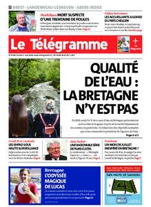 Le Télégramme Brest Abers Iroise – 01 août 2020