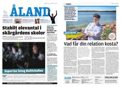 Ålandstidningen – 12 augusti 2019