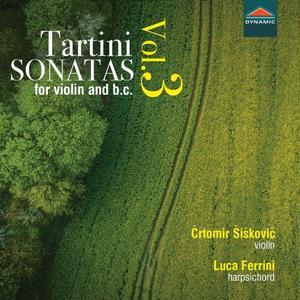 Črtomir Šiškovič, Luca Ferrini - Tartini: Sonatas for Violin & Basso continuo (2019)