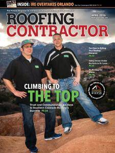 Roofing Contractor - April 2016