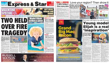 Express and Star Sandwell Edition – February 09, 2019