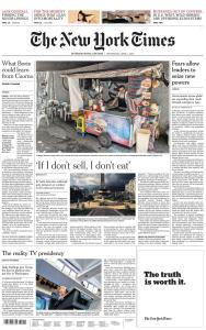 International New York Times - 1 April 2020
