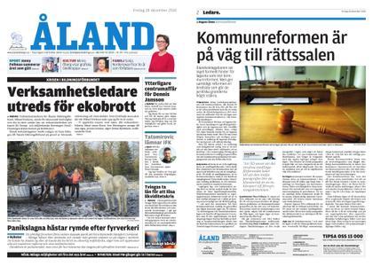 Ålandstidningen – 28 december 2018