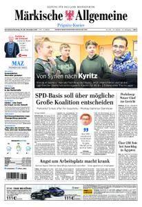 Märkische Allgemeine Prignitz Kurier - 25. November 2017