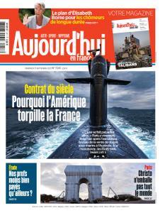 Aujourd'hui en France - 17 Septembre 2021