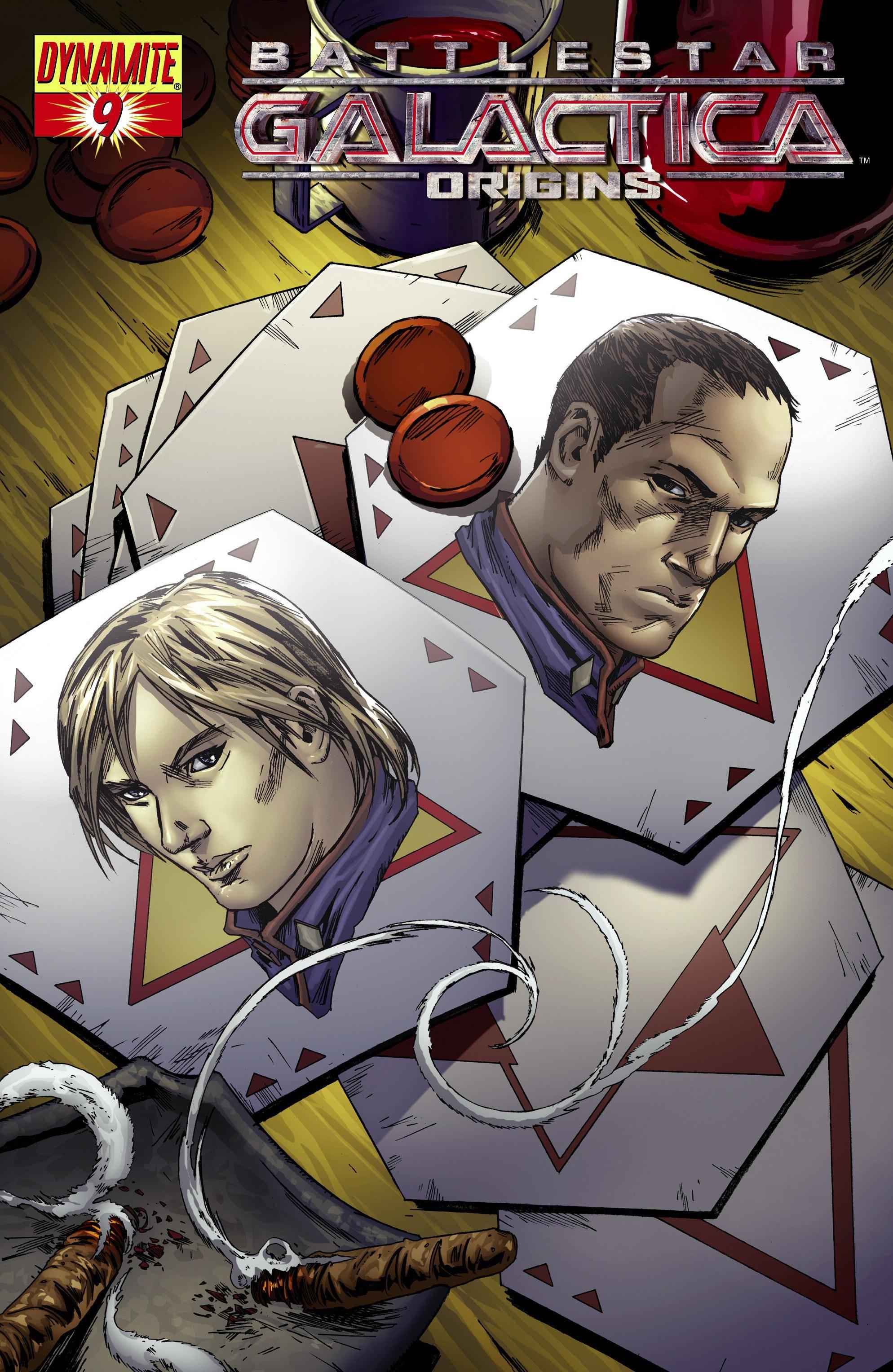 Battlestar Galactica - Origins 009 - Starbuck  Helo 01 of 03 2008 2 covers digital