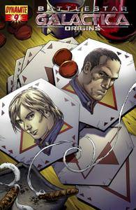 Battlestar Galactica - Origins 009 - Starbuck  Helo 01 of 03 2008 2 covers digital