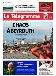 Le Télégramme Quimper – 05 août 2020