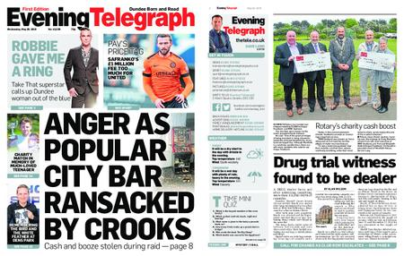 Evening Telegraph First Edition – May 29, 2019