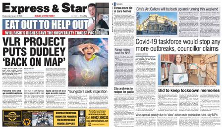 Express and Star Dudley and Wyre Forest Edition – August 05, 2020