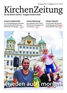 KirchenZeitung für das Bistum Aachen – 18. August 2019