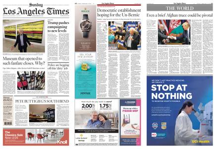 Los Angeles Times – February 16, 2020