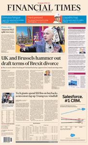 Financial Times Europe – 14 November 2018