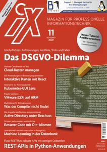 iX Magazin - November 2020