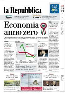 la Repubblica - 28 Marzo 2019