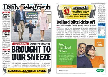 The Daily Telegraph (Sydney) – September 08, 2017