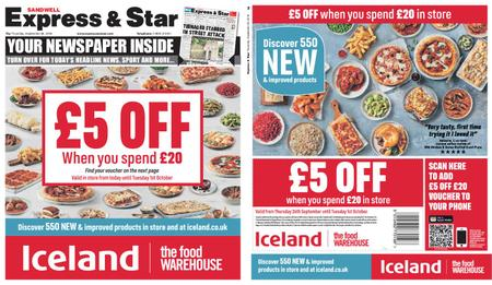 Express and Star Sandwell Edition – September 26, 2019