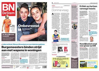 BN DeStem - Bergen op Zoom – 10 september 2018