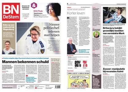 BN DeStem - Bergen op Zoom – 09 november 2017