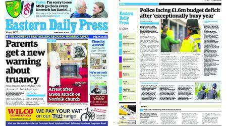 Eastern Daily Press – March 30, 2018