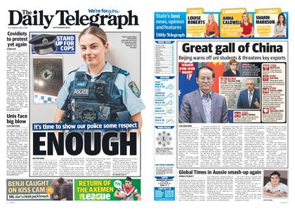 The Daily Telegraph (Sydney) – June 11, 2020