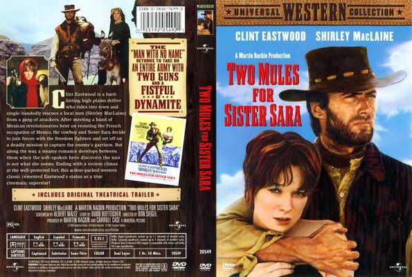 Two Mules for Sister Sara (1970)