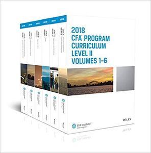 CFA Program Curriculum 2018 Level II (CFA Curriculum 2018)