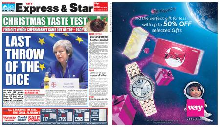 Express and Star City Edition – December 10, 2018