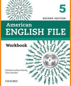 ENGLISH COURSE • American English File • Level 5 • Second Edition • WORKBOOK (2014)