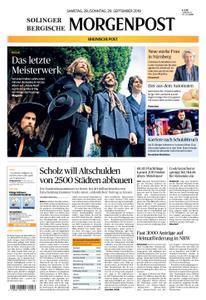 Solinger Morgenpost – 28. September 2019
