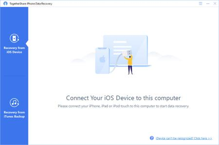 TogetherShare iPhone Data Recovery 5.9 Build 2019.10.02