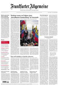 Frankfurter Allgemeine Zeitung F.A.Z. - 25. Januar 2019