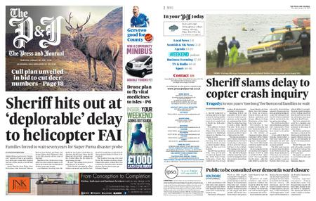 The Press and Journal Moray – January 30, 2020