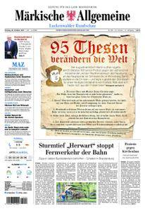 Märkische Allgemeine Luckenwalder Rundschau - 30. Oktober 2017