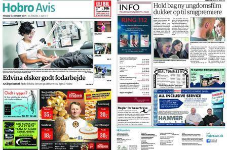 Hobro Avis – 10. oktober 2017