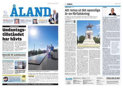 Ålandstidningen – 16 juni 2020