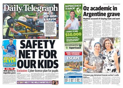 The Daily Telegraph (Sydney) – January 28, 2019