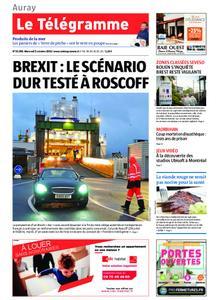Le Télégramme Auray – 02 octobre 2019