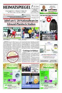 Heimatspiegel - 11. Oktober 2017
